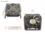 FAN+COVER CEL R570/R670/M470-2 HP