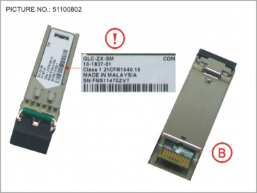 SFP SM 2 GB UP TO 70KM  LC F. LSW 2960