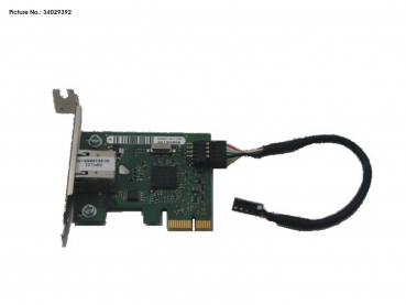 GIGABIT ETHERNET PCIE X1, DS(Dash-LAN)