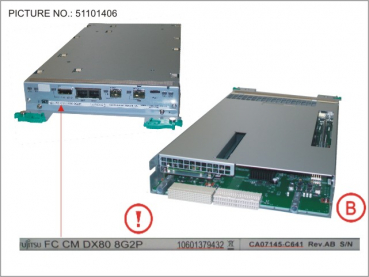 FC (8G_2PORT) CONTROLLER MODULE FOR DX80