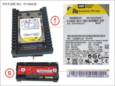 HDD 600GB SATA S3 10K 3.5