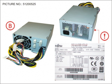 POWER SUPPLY 800W 90+