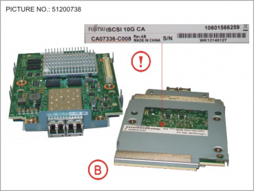 DX80/90 S2 INTERFCARD ISCSI 2PORT 10GB
