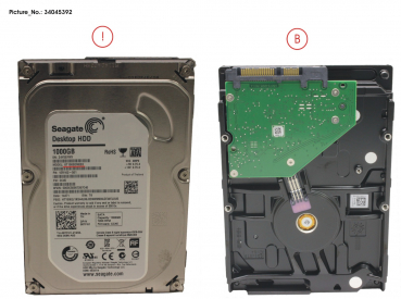 HDD 1TB SATA S3 7.2K 3.5  (BP2.0)