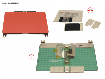TOUCHPAD ASSY (RED)