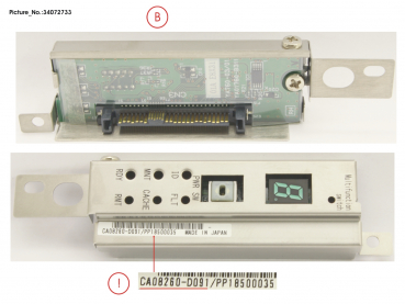 DX S4 HE SPARE CE OPERATORPANEL