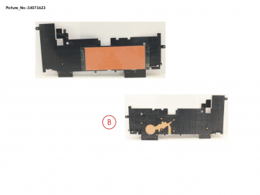 FRAME FOR KEYB. W/ SIM SHEET,LOCK (WWAN)