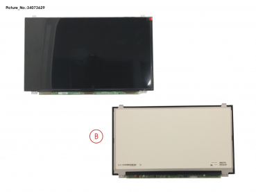 LCD PANEL AG, W/ RUBBER (EDP, FHD)