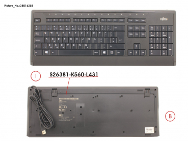 KEYBOARD KB900 USB NL