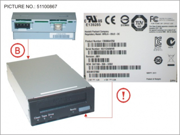 TAPE KIT DDS GEN6 80GB USB 3.5  INTERN