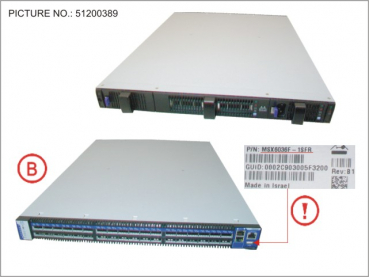 MELLANOX IB SWITCH 36 PORT 56GB FDR ext.