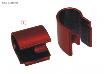 COVER, HINGE LEFT (RED)