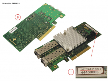 DUAL-LAN-CARD 2X10GB