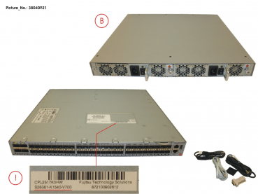 SWITCH VDX6740, SPARE