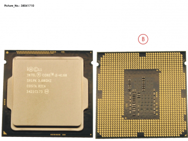 CPU CORE I3-4160 3.6GHZ 35W
