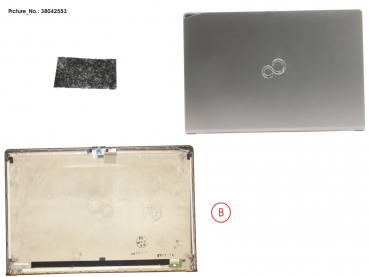 LCD BACK COVER ASSY (QHD,NON TOUCH,CAM)