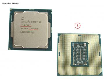 CPU CORE I7 8700T 2.4GHZ 35W