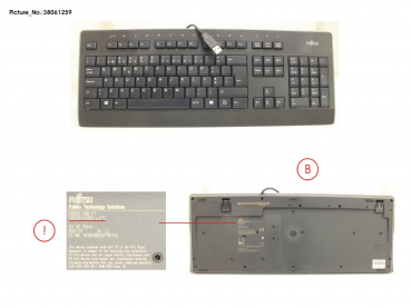 KEYBOARD KB955 USB PT