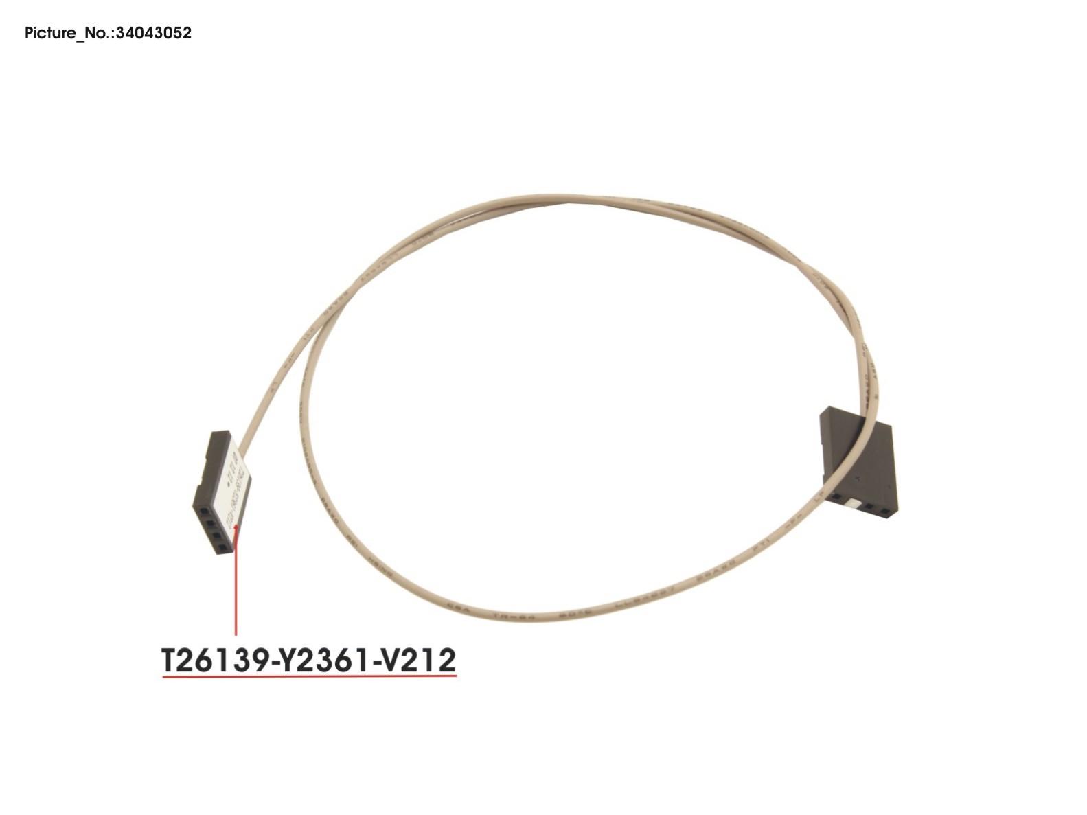 cable sas led original fujitsu spare parts for primergy  esprimo  lifebook  stylistic and