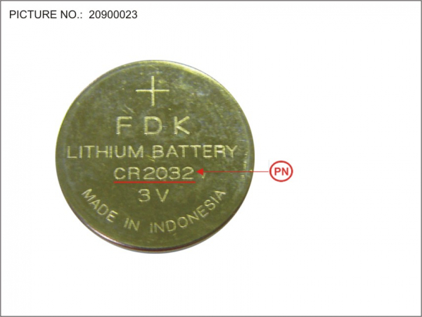 -BT-RTC LITHIUM BATTERY (CR 2032)