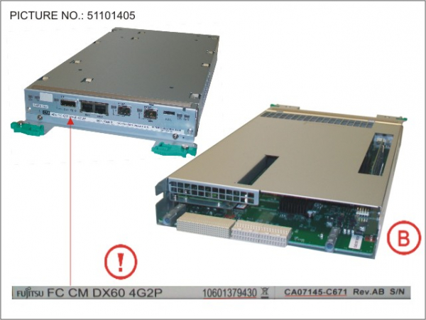 FC CONTROLLER MODULE FOR DX60