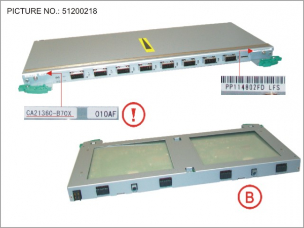 DX8700S2 BRT (BACK END ROUTER)