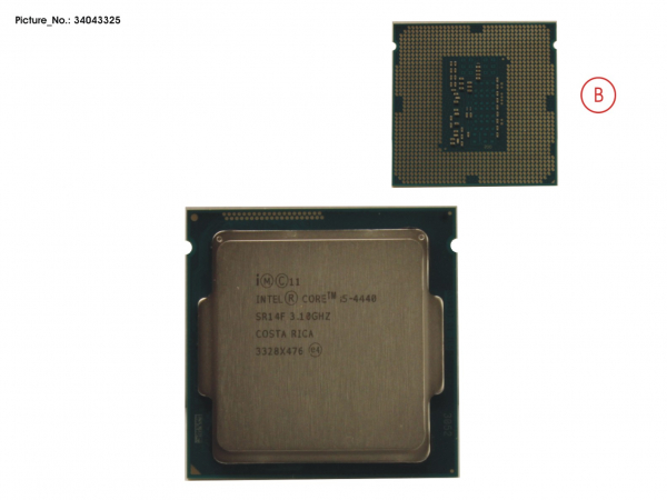 CPU CORE I5-4440 3.1GHZ 84W