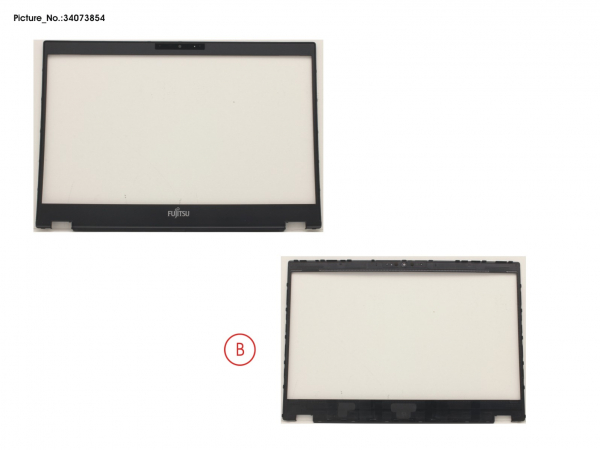 LCD FRONT COVER (FOR CAM)