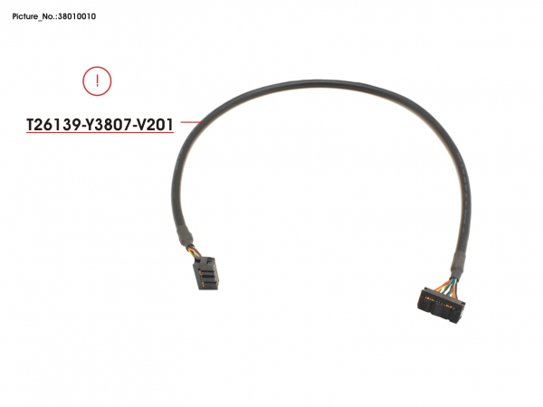 CABLE USB INT 14P 500