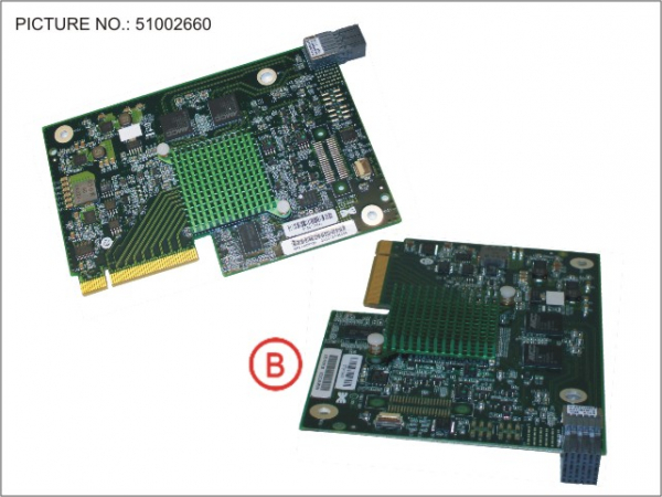 PY MEZZ CARD 2X10GB CNA MC-CNA102E