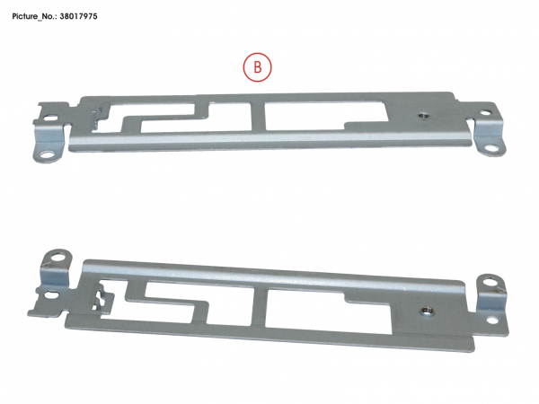 BRACKET FOR SUB BOARD TP BUTTONS CLICK