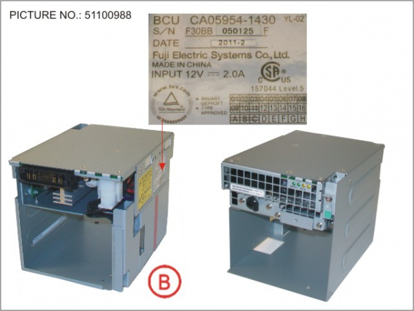 DX4X0 BATTERY CONTROL UNIT, BCU
