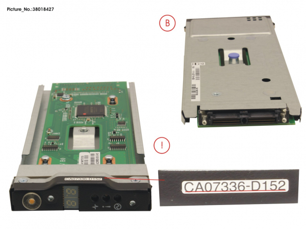 DX S2 DRIVE ENCL. 2.5  OPERATION PANEL