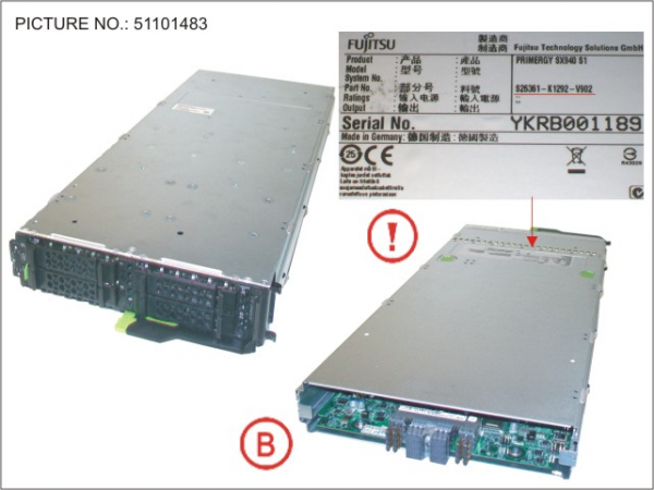 PY SX940 S1 HDD BLADE