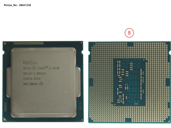 CPU CORE I5-4590 3.3GHZ 95W