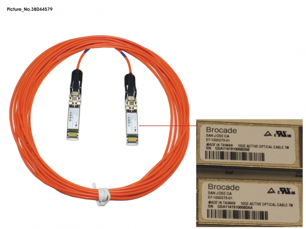 SFP+ ACTIVE OPTICAL CABLE BROCADE, 7M