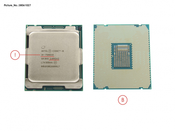 CPU CORE I9-7980XE 2.6GHZ 165W