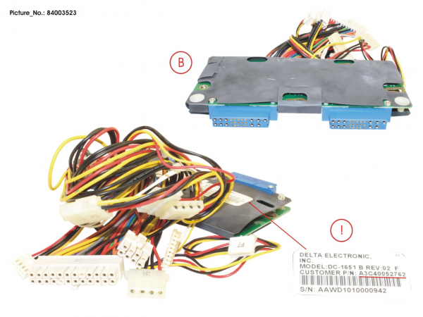 POWER BACKPLANE (ROHS)